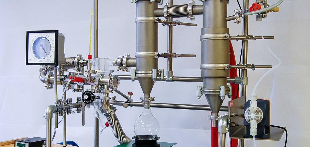 Kremsmüler Versuchsanlage Rückgewinnung Altöle Kühlflüssigkeit