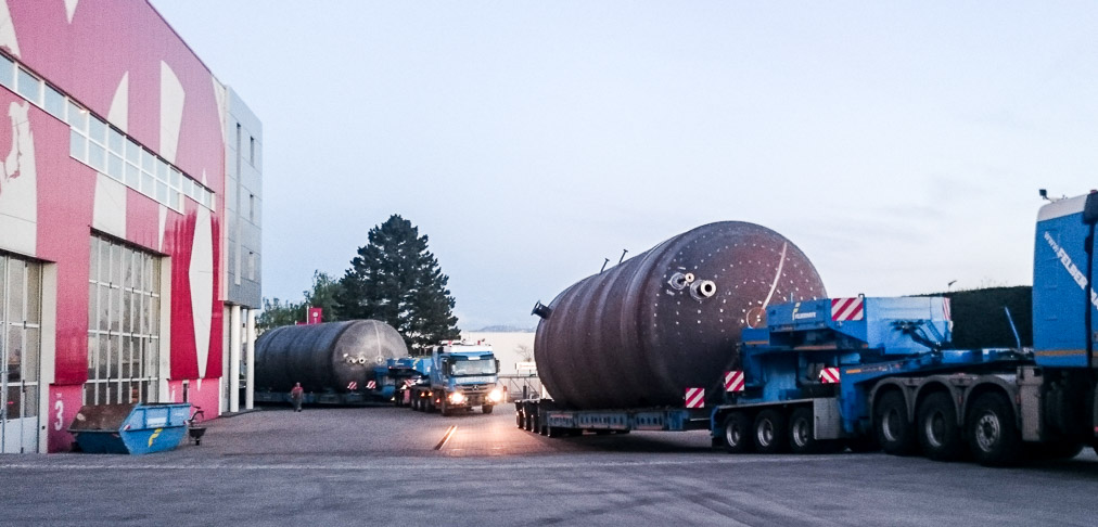 Kremsmüller Fertigung Behälter Behälterbau