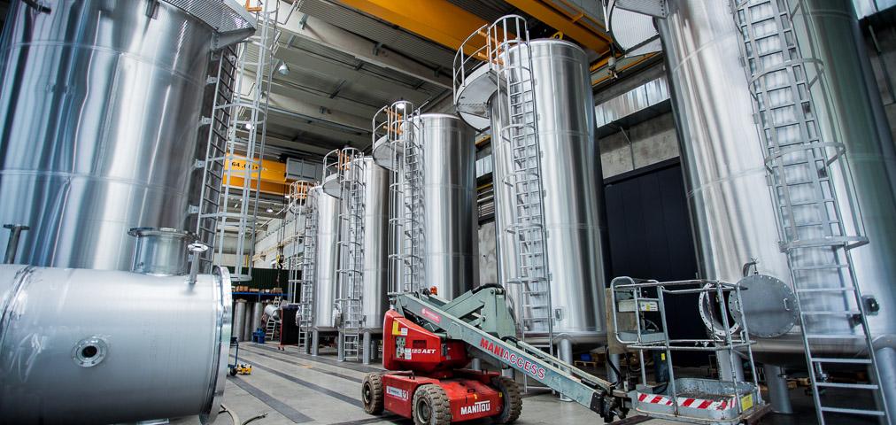 Lagertanks Hollu Kremsmüller Behälterbau