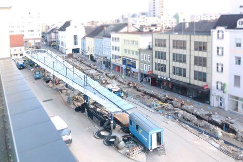 Neugestaltung Kaiser-Josef-Platz Wels Kremsmüller Fernwärme Schweißer news