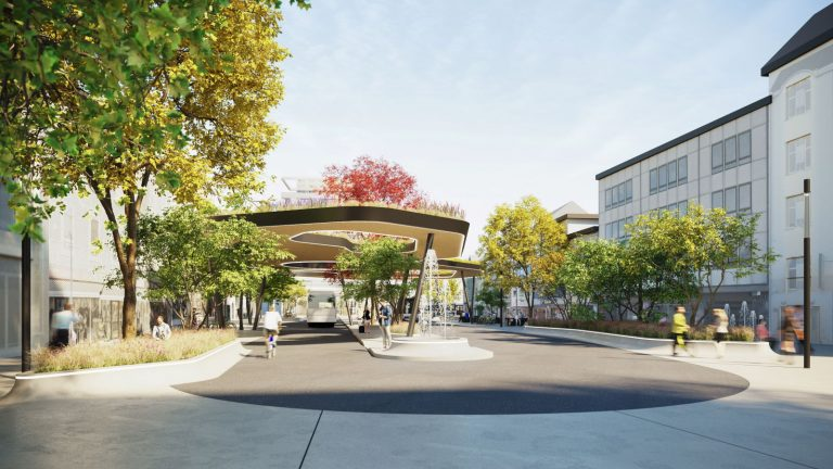 Neugestaltung Kaiser-Josef-Platz Businsel