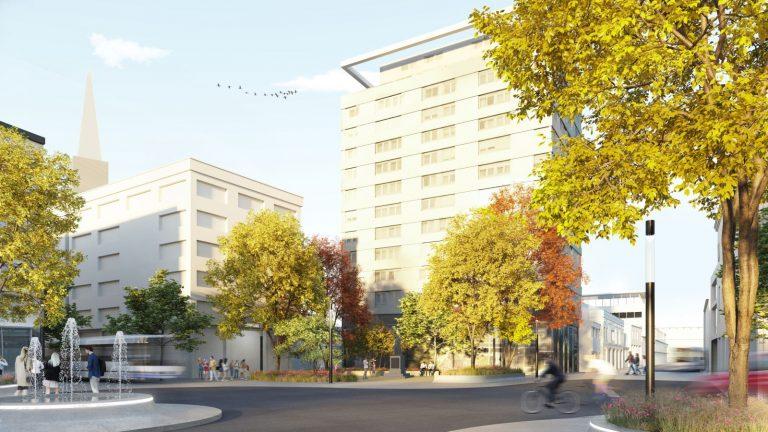 Neugestaltung Kaiser-Josef-Platz Wels Park